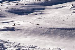 Slopes in Deux Alpes. France Royalty Free Stock Image
