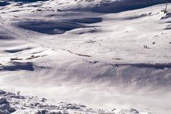 Slopes in Deux Alpes. France Royalty Free Stock Image
