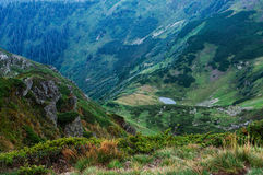 Slopes of low mountains Royalty Free Stock Photos