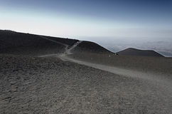 Slopes of Mount Etna Stock Image