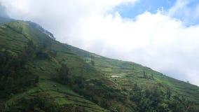 Slopes of Mount Sumbing Royalty Free Stock Image
