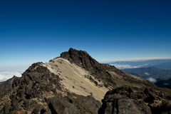 Slopes of the Pichincha in Ecuador in the Andes Stock Image