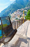 The slopes of Positano Stock Image
