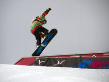Slopestyle Stockbild