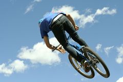 Slopestyle Competition Royalty Free Stock Photography