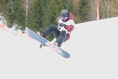 Slopestyle - Elen Koenz Royalty Free Stock Images