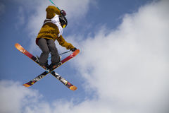 Slopestyle freestyle Royalty Free Stock Image