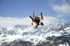 Slopestyle freestyle Stock Photos
