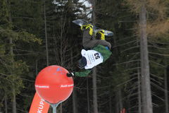 Slopestyle - Phillip Kundratitz Royalty-vrije Stock Foto