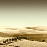Sloping Hills Royalty Free Stock Photography