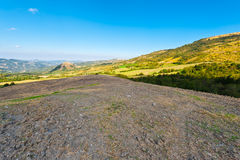 Sloping Hills Stock Photography