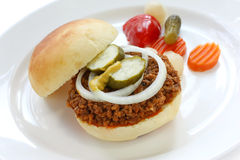 Sloppy joe Stock Photo