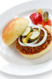 Sloppy joe Royalty Free Stock Image