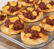 Sloppy Joe Biscuits Stock Photo