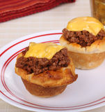 Sloppy Joe Biscuits Royalty Free Stock Photo