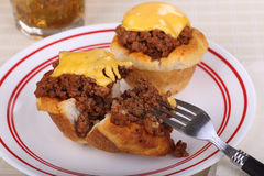 Sloppy Joe Biscuits Stock Images
