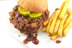 Sloppy Joe Royalty Free Stock Photo