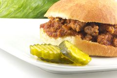 Sloppy Joe Royalty Free Stock Images