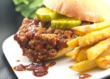 Sloppy Joe Royalty Free Stock Photos