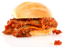 Sloppy Joe Homemade Royalty Free Stock Photography