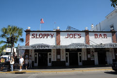 Sloppy Joe's Bar in Key West Royalty Free Stock Images
