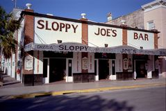 Sloppy Joe's Bar- Key West Stock Image