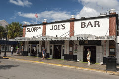 Sloppy Joe's Bar in Key West Florida Royalty Free Stock Photography