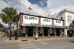 Sloppy Joe's Bar in Key West Florida Royalty Free Stock Photos