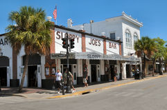 Sloppy Joe's Bar in Key West Florida. Image of Sloppy Joe's in Key West FLorida Royalty Free Stock Photo