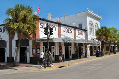 Sloppy Joes Bar, key west florida. Image of Sloppy Joe's bar in Key West Florida Royalty Free Stock Photography