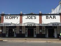 Sloppy joes bar Royalty Free Stock Images