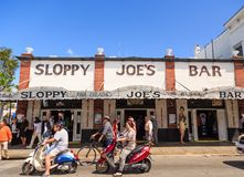 Sloppy Joes and Scooters royalty free stock image