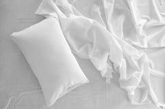 Slordig bed. Royalty-vrije Stock Foto's