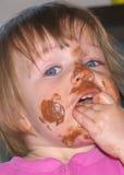 Slordige Baby Stock Foto