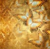 Slordige vlinders vector illustratie