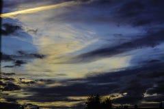 Slordige Wolkendekking Dartford Stock Afbeelding