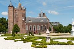 Slot assumburg castle. Dutch castle slot assumburg heemkerk with design garden Stock Photo