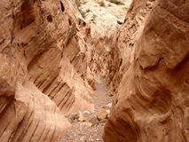 Slot Canyon Royalty Free Stock Photo