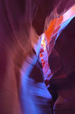 Slot canyon, Antelope Valley, Page, Arizona Royalty Free Stock Photos