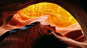 Slot canyon Arizona Antelope Stock Photos