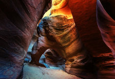 Slot canyon Royalty Free Stock Image