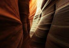 Slot canyon Stock Image
