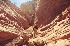 Slot canyon Royalty Free Stock Photography