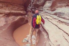 Slot canyon Stock Photos