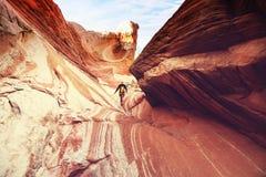 Slot canyon Royalty Free Stock Images