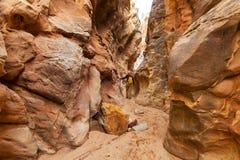 Slot canyon royalty free stock image