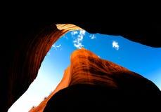 Slot Canyon.  Southern Utah, US Royalty Free Stock Image