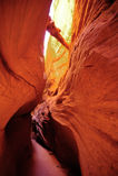 Slot Canyon.  Southern Utah, US Stock Photo