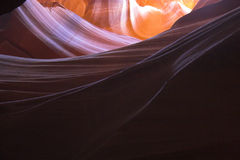Slot canyons of southwest Stock Images