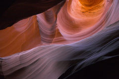 Slot canyons of southwest Royalty Free Stock Photo